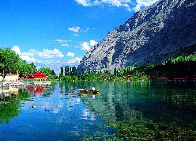 Shangrila Lake, Pakistan