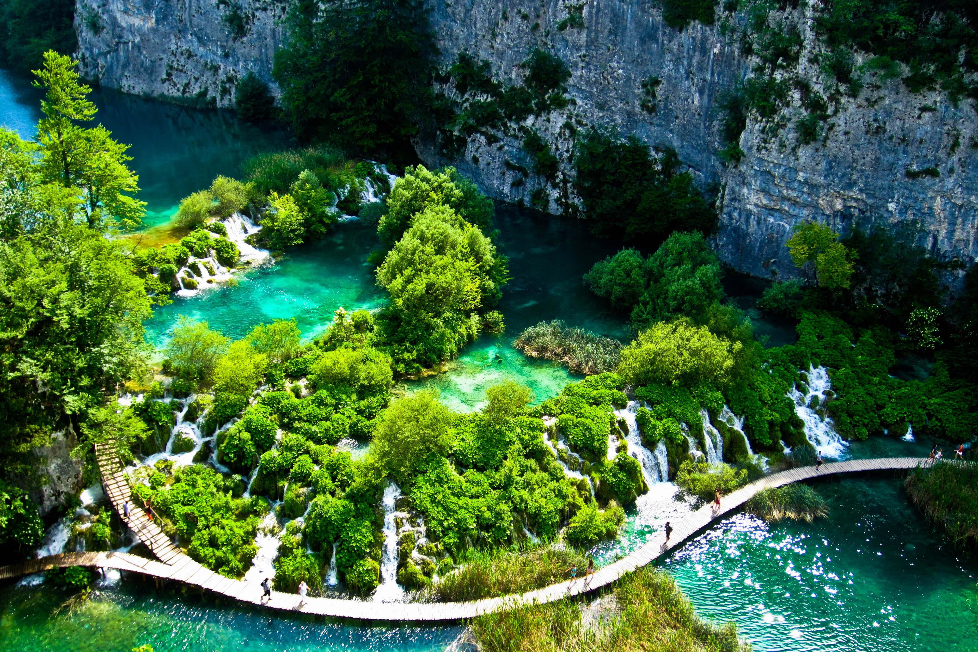 plitvice-lakes-croatia-national-park-wallpaper