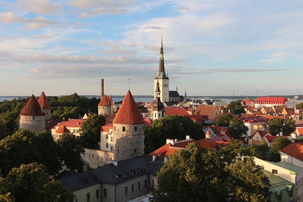 Day 4 Tallinn Sunset